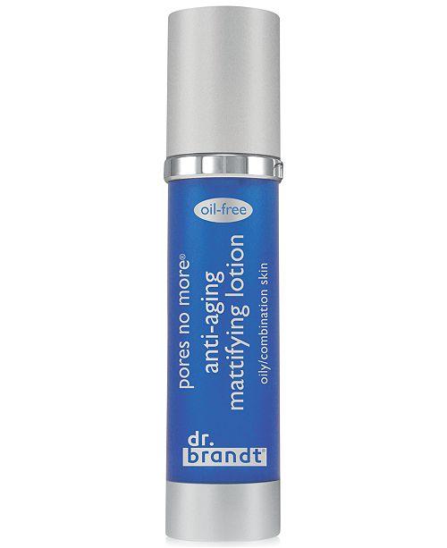 Dr. Brandt pores no more anti-aging mattifying lotion, 1.7 oz