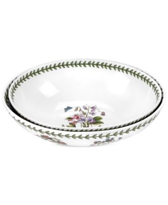 Botanic Garden Set of Two Large Oval Nesting Bowls