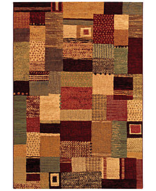 "Couristan Area Rug, Taylor Maribel Mustard-Multi 9'2"" x 12'5"""