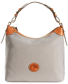 Dooney & Bourke Large Nylon Erica Hobo