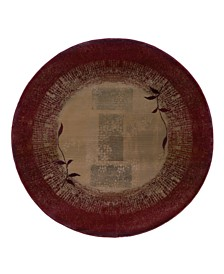 Oriental Weavers Rugs, Generations Shadow Vine 544X Round