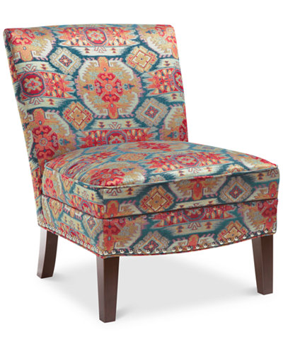 Coryn Fabric Accent Chair Quick Ship Furniture Macy S