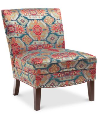coryn fabric accent chair quick ship