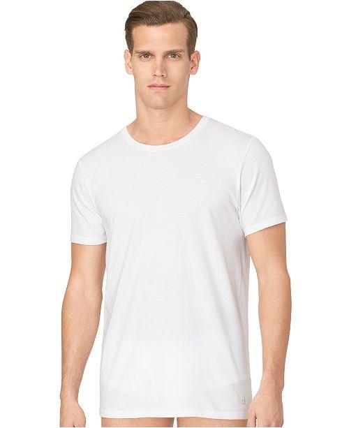 f32b796a4 ... Calvin Klein Men's Cotton Classics Crew-Neck Classic Fit 3-pack ...