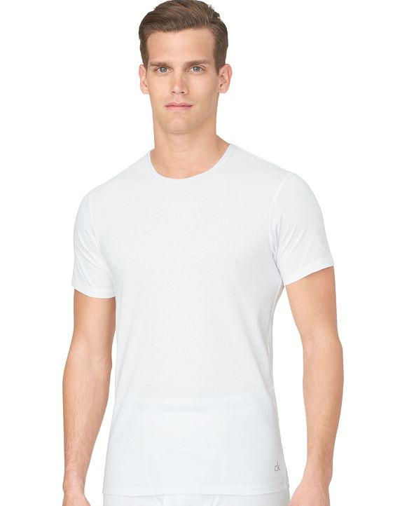 Calvin Klein Men's Slim-Fit Crew-Neck 3-pack nb1176