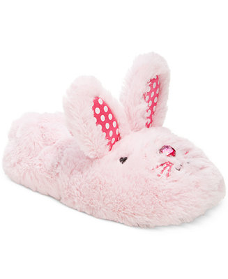 Stride Rite Fuzzy Bunny Slippers Toddler Girls Amp Little