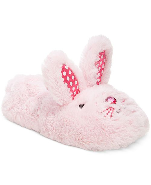 a67978cf6bb Stride Rite Fuzzy Bunny Slippers