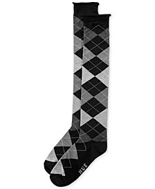 HUE® Women's Argyle Knee Socks