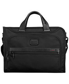 Tumi Alpha Slim Deluxe Briefcase