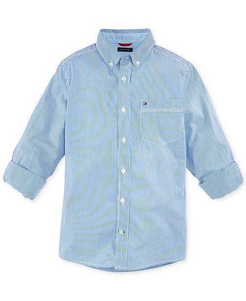 Tommy Hilfiger Striped Shirt, Little Boys