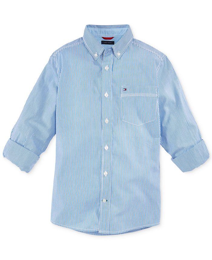 Tommy Hilfiger - Little Boys' Striped Shirt