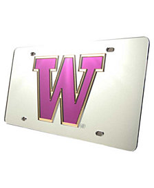 Stockdale Washington Huskies Laser Tag License Plate