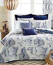 """Tommy Hilfiger Applique Grosgrain Flange 12"""" x 18"""" Decorative Pillow"""