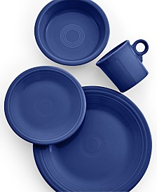 Fiesta Cobalt 4-Piece Place Setting