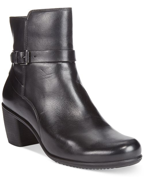 Ecco Women's Touch 55 Ankle Strap Booties