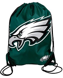 Forever Collectibles Philadelphia Eagles Big Logo Drawstring Bag