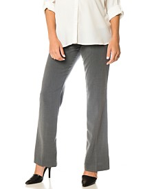 Motherhood Maternity Petite Flared Dress Pants