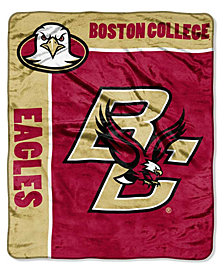 Northwest Company Boston College Eagles Plush Team Spirit Throw Blanket