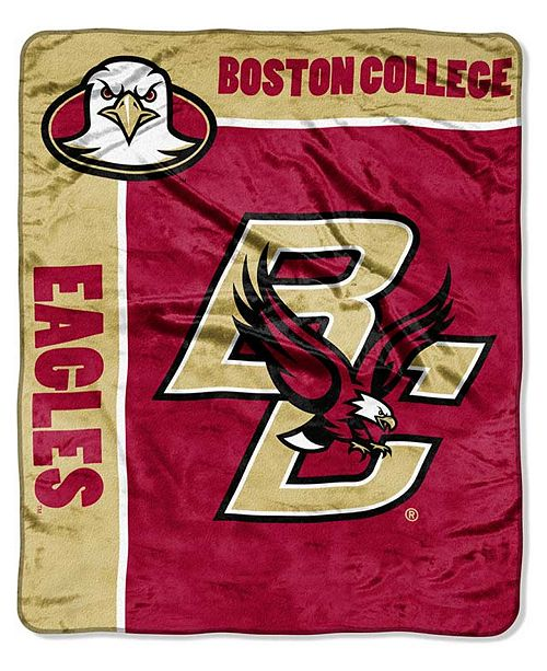 Northwest Company Boston College Eagles Plush Team Spirit Throw New Team Throw Blankets