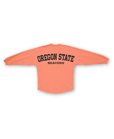 Royce Apparel Inc Women's Long-Sleeve Oregon State Beavers Sweeper T-Shirt