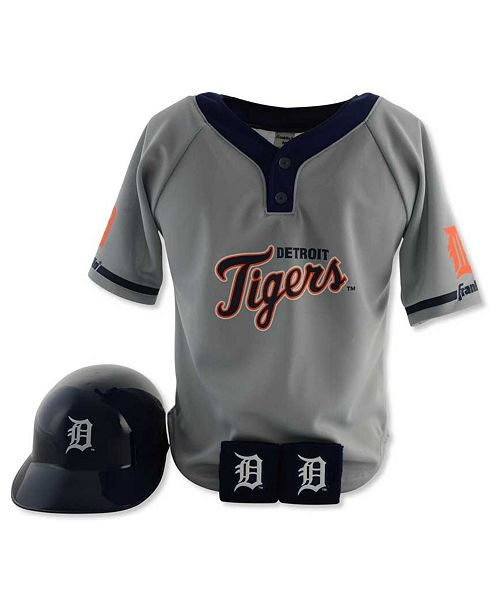 Franklin Sports Boys' Detroit Tigers Four-Piece Team Set