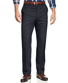 Michael Kors Men's Solid Classic-Fit Stretch Dress Pants