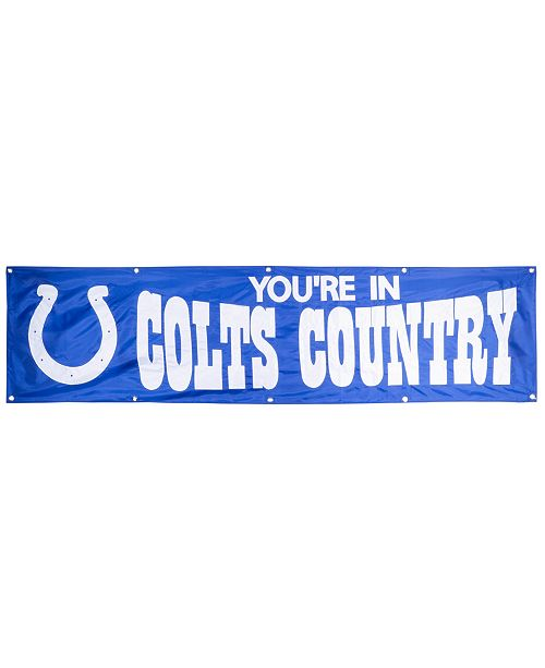 Party Animal Indianapolis Colts 8-Ft Banner