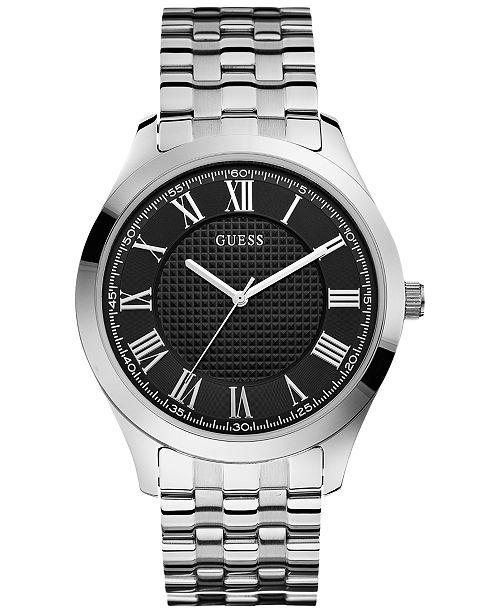 GUESS Men's Stainless Steel Bracelet Watch 44mm U0476G1