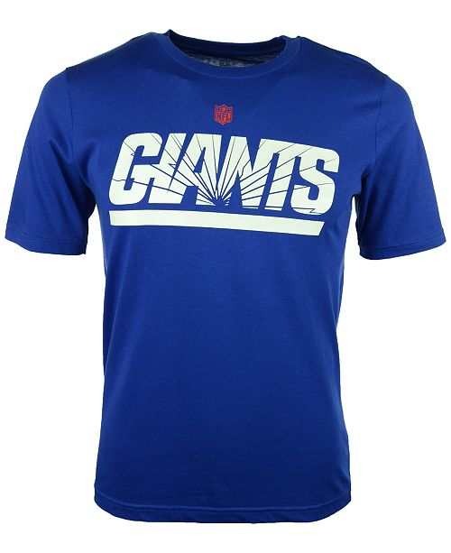 Outerstuff York Giants Shatter Mark Basic T-Shirt