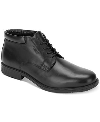 Rockport Men's Essential Details Waterproof Chukka Boot - All ...