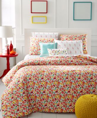Whim By Martha Stewart Collection Pretty In Poppy 5 Pc. Comforter Sets