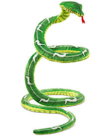 Melissa and Doug Kids' Snake Plush