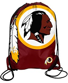 Forever Collectibles Washington Redskins Big Logo Drawstring Bag