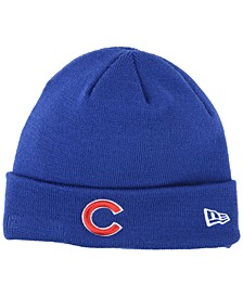 Chicago Cubs Basic Cuffed Knit Hat