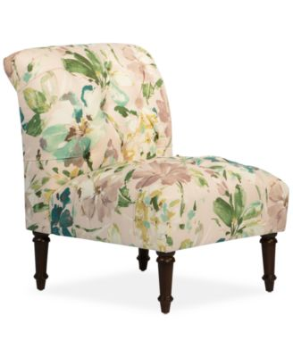 bradbury paint palette fabric tufted accent chair quick ship