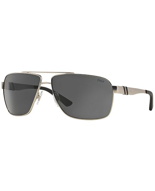 Polo Ralph Lauren Sunglasses, PH3088 - Sunglasses - Men - Macy\'s