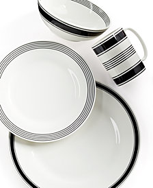 kate spade new york Concord Square 4 Piece Place Setting