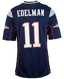 Nike Men's Julian Edelman New England Patriots Game Jersey