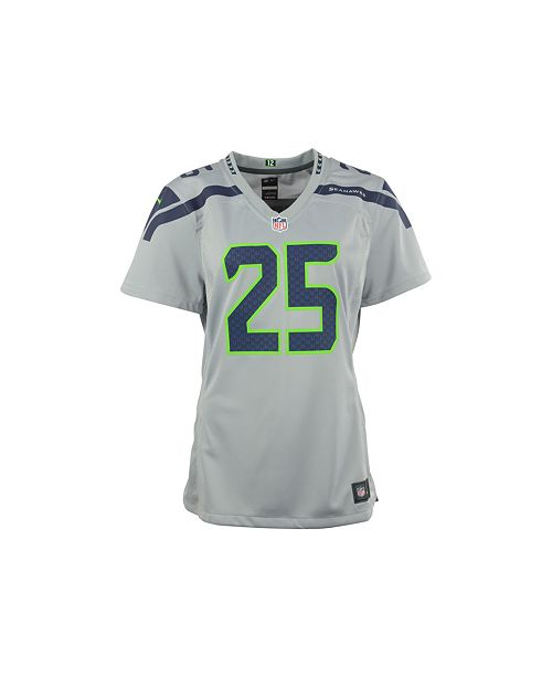 hot sales 2ce6f fdbf5 Nike Women's Richard Sherman Seattle Seahawks Game Jersey ...