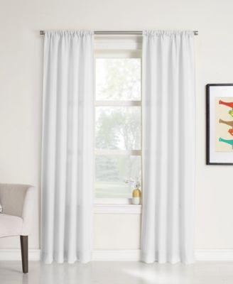 "CLOSEOUT! No. 918 Elation Sheer 40"" x 95"" Curtain Panel"