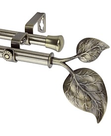 Ivy Double Curtain Rod Collection