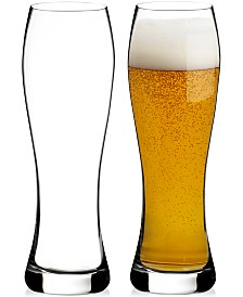 Waterford Elegance Lager Glass Pair