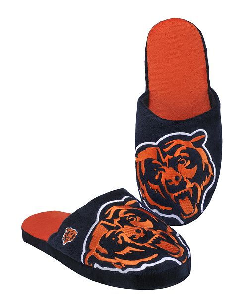 Forever Collectibles Men's Chicago Bears Big Logo Slippers