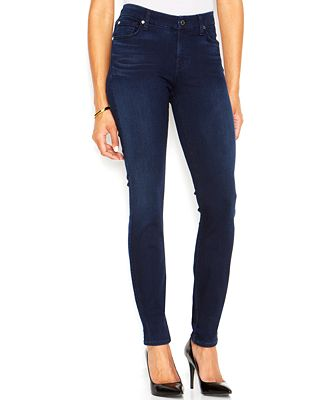 7 For All Mankind Mid-Rise Skinny Jeans - Jeans - Women - Macy's