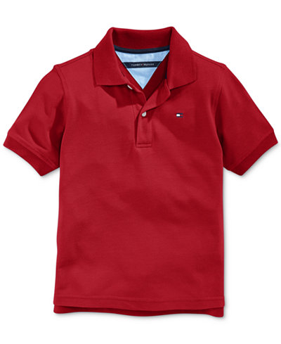 tommy hilfiger boys 39 ivy polo shirt sets outfits kids baby macy 39 s. Black Bedroom Furniture Sets. Home Design Ideas