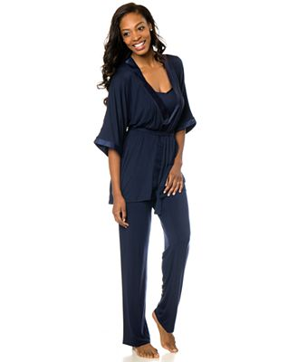 Bump In The Night™ 3-Piece Nursing Pajama Set - Maternity - Women ...