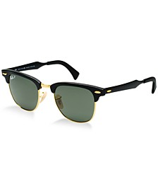 Polarized Sunglasses, RB3507 CLUBMASTER ALUMINUM