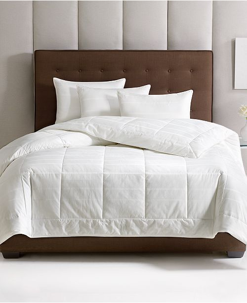 Hotel Collection CLOSEOUT! Primaloft All Season Down Alternative Comforters, Hypoallergenic, Created for Macy's