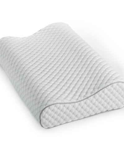 Dream Science Memory Foam Pressure Point Relief Contour Pillow by Martha Stewart Collection, Created for Macy's