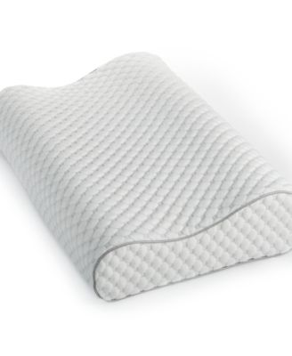 dream science memory foam pressure point relief contour pillow by martha stewart collection created for